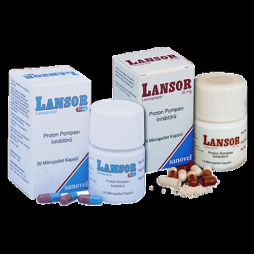 lansor 30 mg kapsül