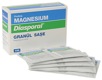 magnesium diasporal granül saşe