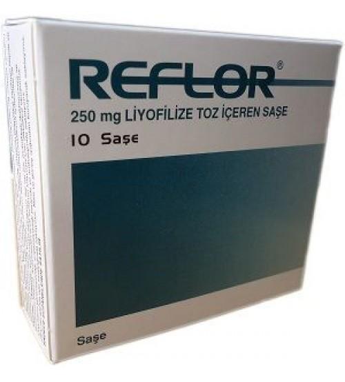 reflor saşe 250 mg liyofilize toz içeren saşe