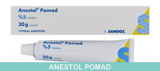 anestol pomad topikal aneztezik lidokain