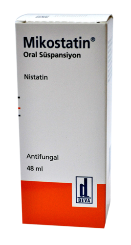 mikostatin oral süspansiyon antifungal